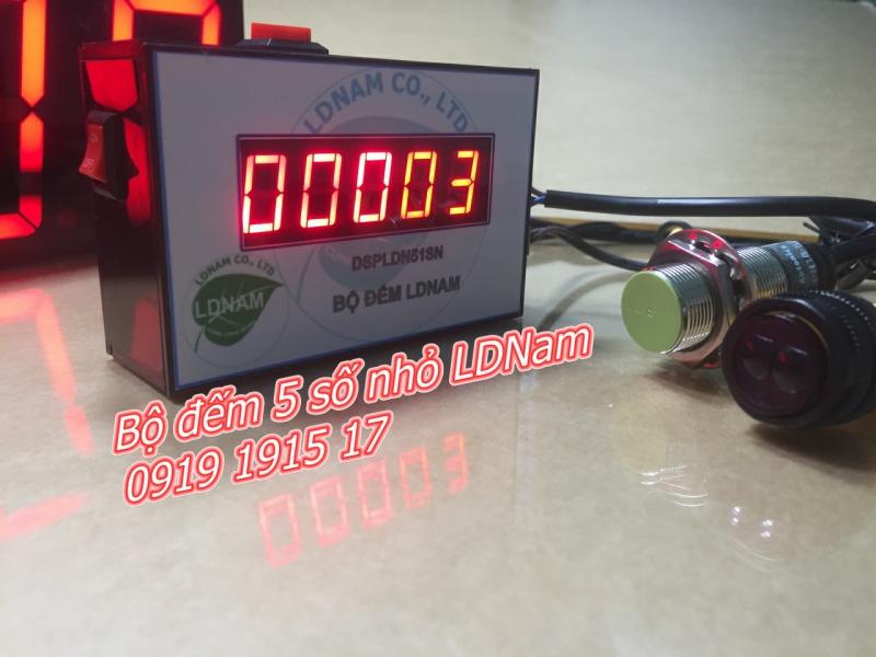 Bộ đếm sản phẩm 5 số nhỏ LDNam