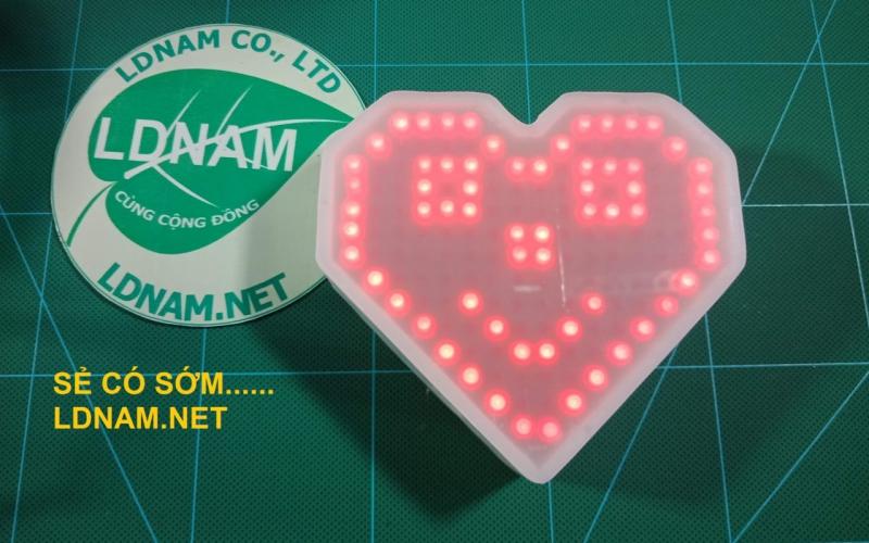 LED Trái tim ma trận LDNam