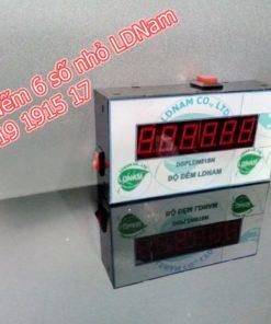 Bộ đếm counter sản phẩm 6 số nhỏ led 1.2 x 1.9 D6SNV10