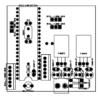 Sơ đồ bố trí linh kiện điều hướng pin măt trời PIC16F877A LDNam