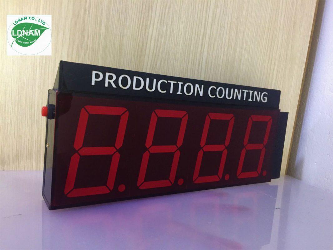 Bảng led bộ đếm sản phẩm LDNam