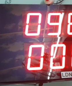 Bộ đếm sản lượng đặt được giá trị và theo dõi số đếm LDNam