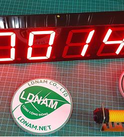 Bộ đếm sản phẩm 6 số lớn LDNam