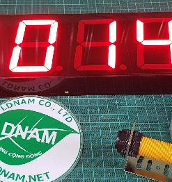 bộ đếm sản phẩm 6 số 6586 LDNam