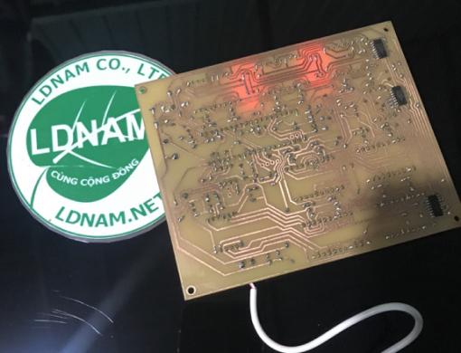 Đồng hồ lịch vạn niên 19 LED 7 đoạn LDNam