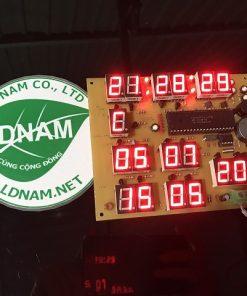 Lịch vạn niên có âm lịch LDNam thời gian thực LED 7 đoạn PIC16F877A
