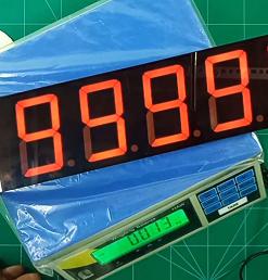 Bộ hiển thị số lớn cân điện tử LDNam lên bảng LED 7 đoạn