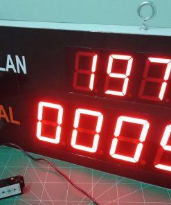 Bảng đếm sản lượng lớn 6586 LDNam số đếm số đặt