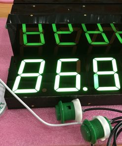 Đồng hồ bấm giờ 4 số 6586 xanh lá LDNam