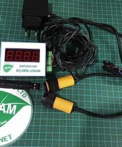 Bộ đếm sản phẩm 4 số nhỏ kết nối máy tính LDNam
