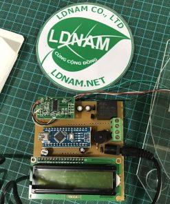 Cân điện tử loadcell Arduino hiển thị LCD LDNam