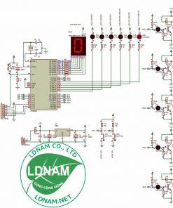Sơ đồ nguyên lý mạch điều khiển máy giặt 89S52 LDNam