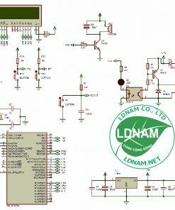 Sơ đồ nguyên lý mạch chữa cháy tự động một bơm PIC16F877A LDNam