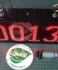 Bộ đếm sản phẩm 4 số 2 mặt LED ma trận P4 LDNam