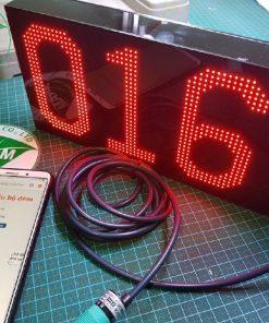 Bộ đếm sản phẩm 3 số LED ma trận P4 full màu LDNam